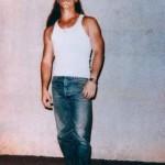 Bruce Lisker in a prison photo, circa 1991.