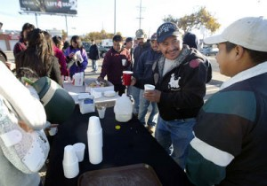 RAZA CLUB FREE BREAKFAST FOR DAY LABORERS