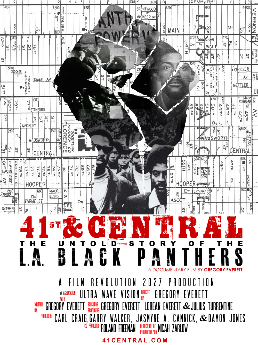 Black Panther Gangsters Los Angeles Black Panthers