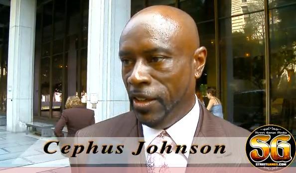 Cephus Johnson, uncle of Oscar Grant - June 18, 2010