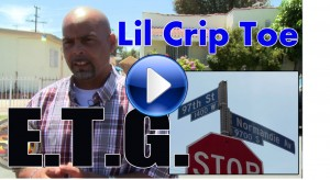 Lil Crip Toe talks about growing up in ETG hood from the Far West side, 2014