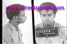 Raymond Washington from a 1974 police mug shot