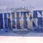 Florencia 13 gang graffiti, 1998