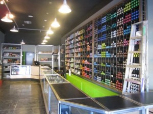spray can store. Black Bedroom Furniture Sets. Home Design Ideas