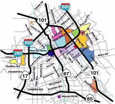San jose gang territory map
