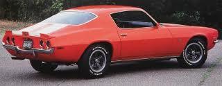 orange 1970 Chevrolet Camaro