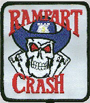 rampart CRASH insignia