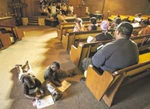 church anti-gang rally