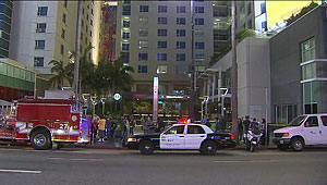 hollywood/vine metro station stabbing
