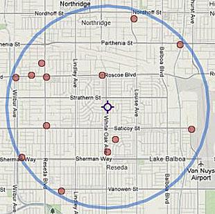 northridge homicide report