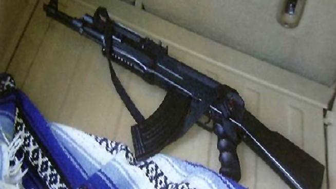 seized assault rifle