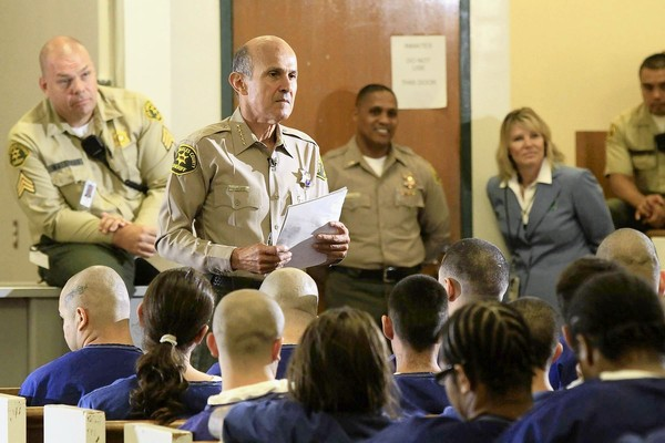 Lee Baca inmate meeting