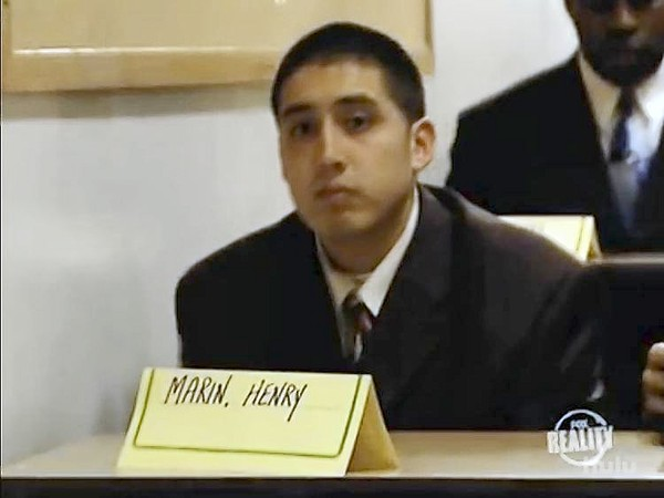 """Henry Marin appears in an episode of the Fox reality television show, """"The Academy."""""""