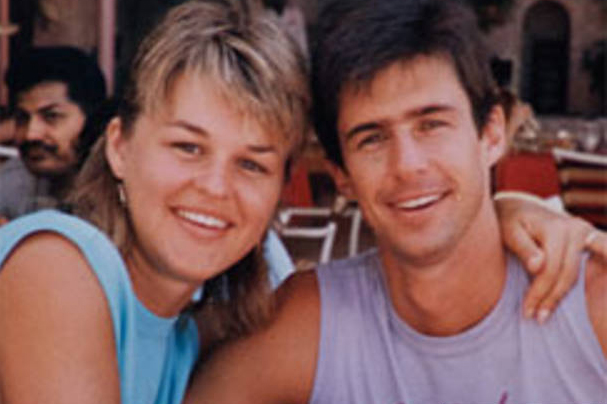 Sherri Rasmussen with husband John Ruetten