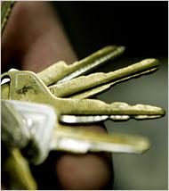 shaved keys for stealing cars