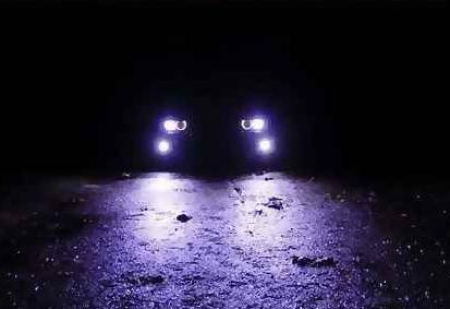 car headlights