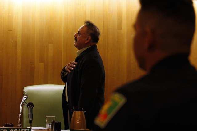 Bell Mayor Oscar Hernandez