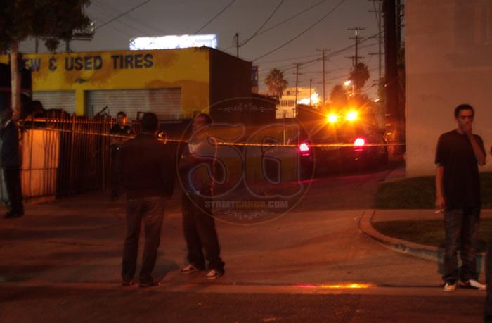 Crime scene, September 27, 2012