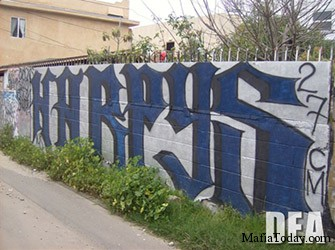 Harpys-graffiti