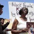 black woman killed lapd