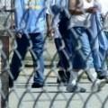 California prison yard
