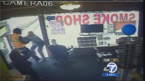 Councilman aide smoke shop robbery