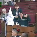 kkk at council meeting