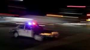 LAPD patrol car