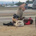 chp beating woman