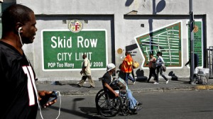 The Skid Row Super Mural