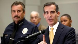 Eric Garcetti and LAPD on Crime increase