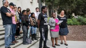 black lives matter pasadena court