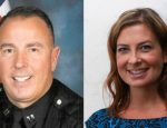 The bodies of Los Alamitos police Capt. Rick Moore, 49, of Seal Beach and  Westminster City Clerk Amanda Jensen, 37, of Garden Grove were discovered at about 2 a.m. in the 100 block of 7th Street. According to the Orange County Coroner's office, they died at 7:20 p.m.