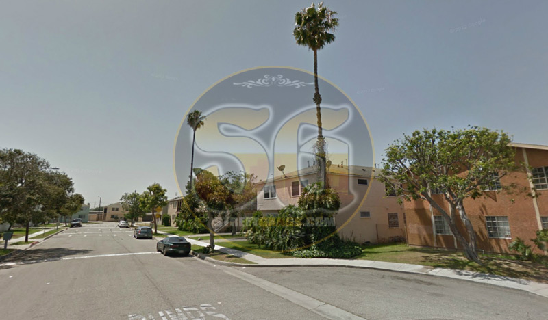 Looking South on Grandee Avenue in Compton, CA