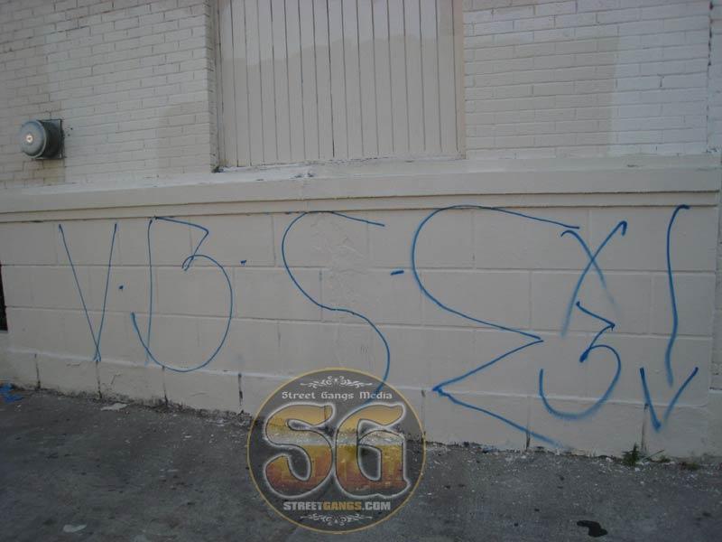 Bronson (BSE) gang graffiti, Los Angeles, CA.