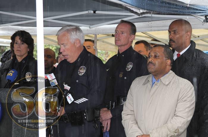 LAPD press conference, April 13, 2012
