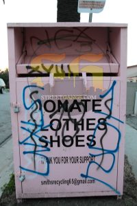 Night Crawlers graffiti between 101st Street & Vermont Ave., January 2017