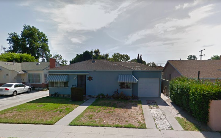 Bartender's childhood house on Pearl in Compton