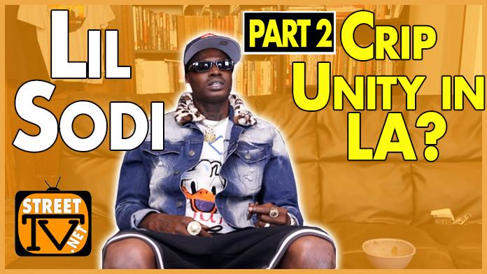 Lil Sodi on Crip Unity